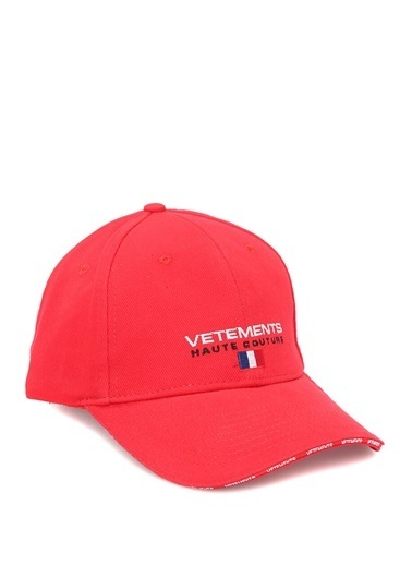 Vetements Şapka Kırmızı